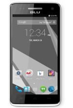 BLU Studio 5.0C 1.3 GHz Dual Core, Android 4.4 KK, 4G HSPA with 5MP Camera - Unlocked White
